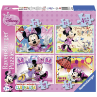 thumb-Disney Minnie Mouse - 12+16 +20 +24 pieces-1