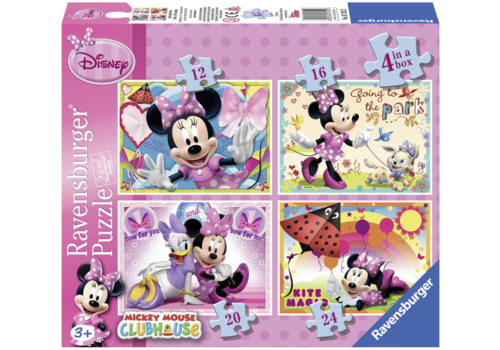 Disney Minnie Mouse - 12+16 +20 +24 stukjes