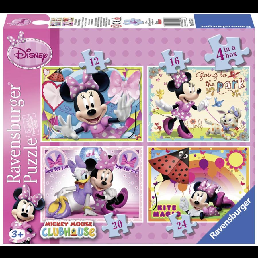Disney Minnie Mouse - 12+16 +20 +24 pieces-1
