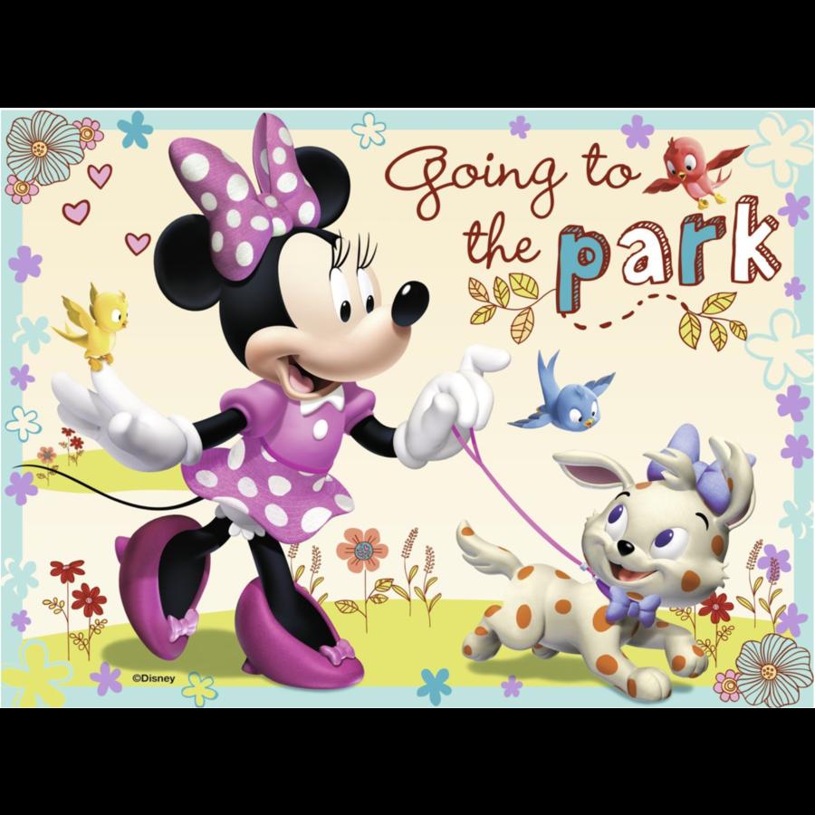 Disney Minnie Mouse - 12+16 +20 +24 stukjes-3