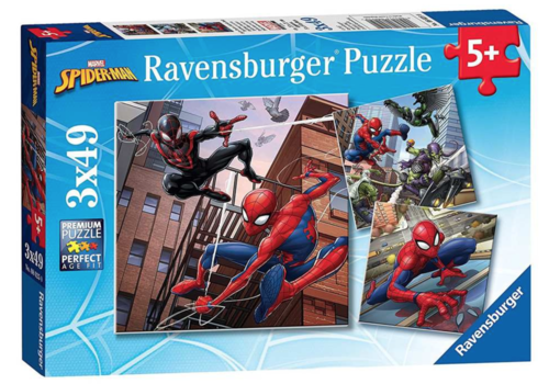 Ravensburger Spiderman - 3 x 49 stukjes