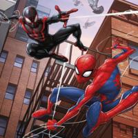 thumb-Spiderman  - 3 puzzels van 49 stukjes-2
