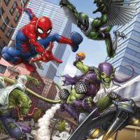 thumb-Spiderman  - 3 puzzels van 49 stukjes-3