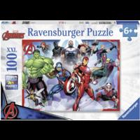 thumb-The Avengers  - puzzel van 100 stukjes-1