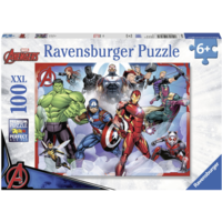 thumb-The Avengers  -  puzzle of 100 pieces-1