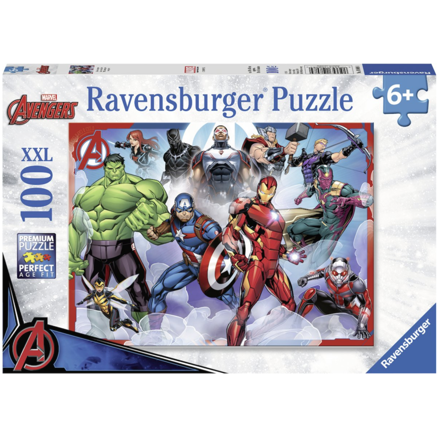 The Avengers  -  puzzle of 100 pieces-1