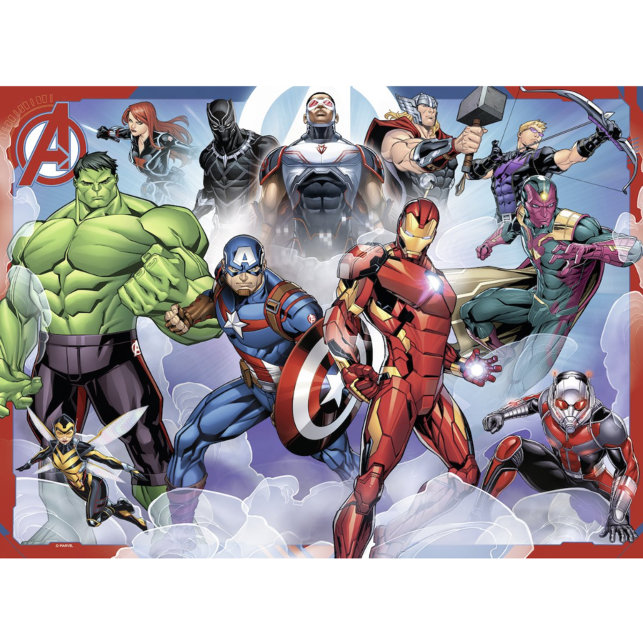 The Avengers  -  puzzle of 100 pieces-2