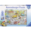 Ravensburger Vehicles in the city  -  puzzle of 100 pieces