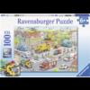 Ravensburger Voertuigen in de stad  - puzzel van 100 stukjes