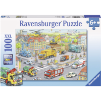thumb-Vehicles in the city  -  puzzle of 100 pieces-1