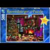 Ravensburger Witte Kerst - 500 stukjes
