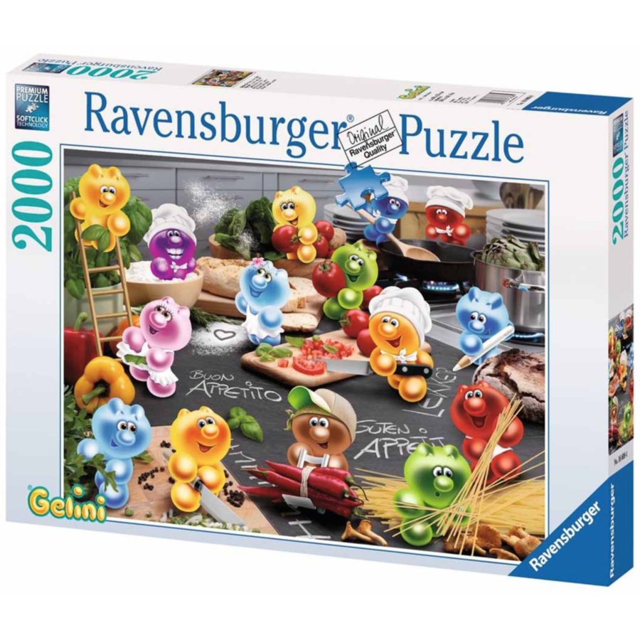 Gelini - Cooking with passion  - puzzle of 2000 pieces - Exclusive offer-2