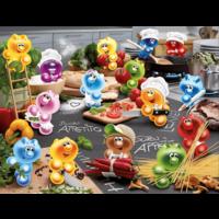 thumb-Gelini - Koken met passie  - puzzel van 2000 stukjes  - Exclusiviteit-1