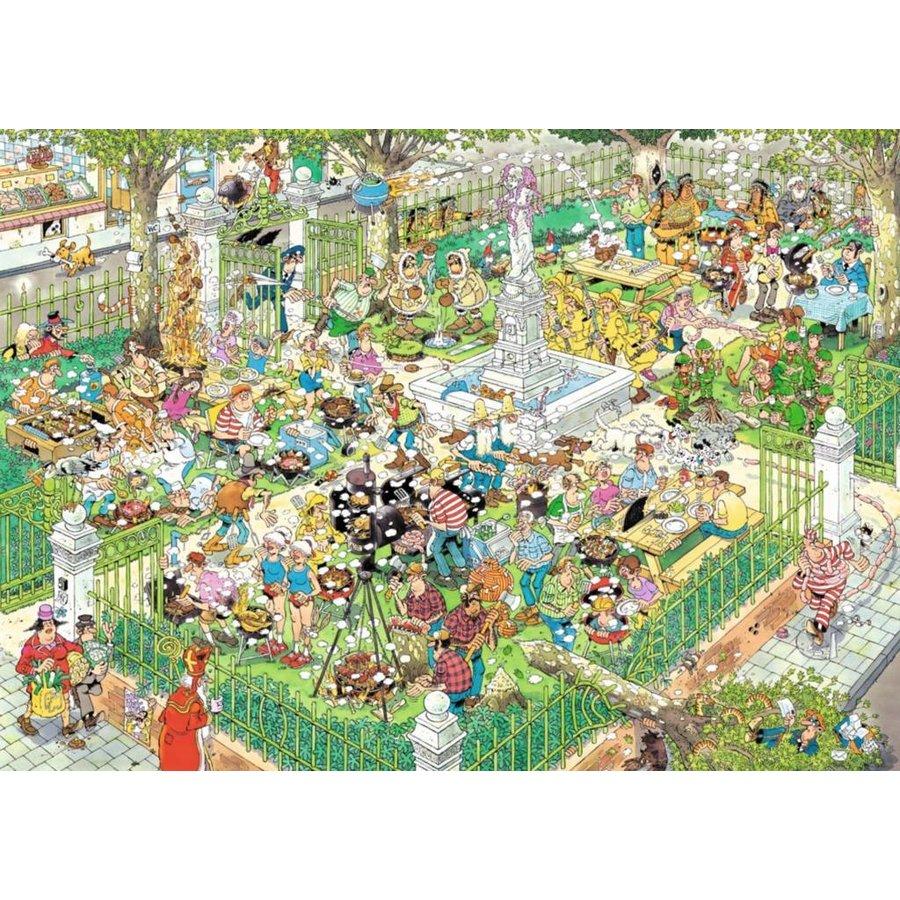 Food Festival - JvH - 2 puzzels van 1000 stukjes-3
