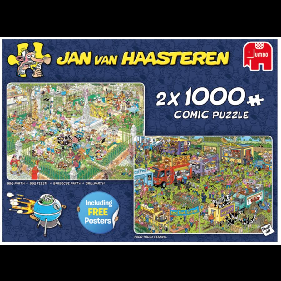 Food Festival - JvH - 2 puzzels van 1000 stukjes-4