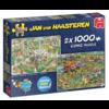 Jumbo Food Festival - JvH - 2 puzzels van 1000 stukjes