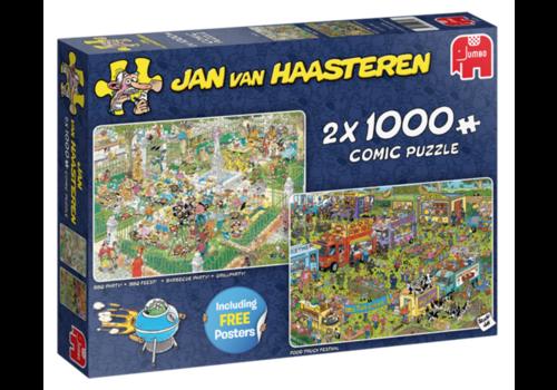 Jumbo Food Festival - JvH - 2 x 1000 stukjes