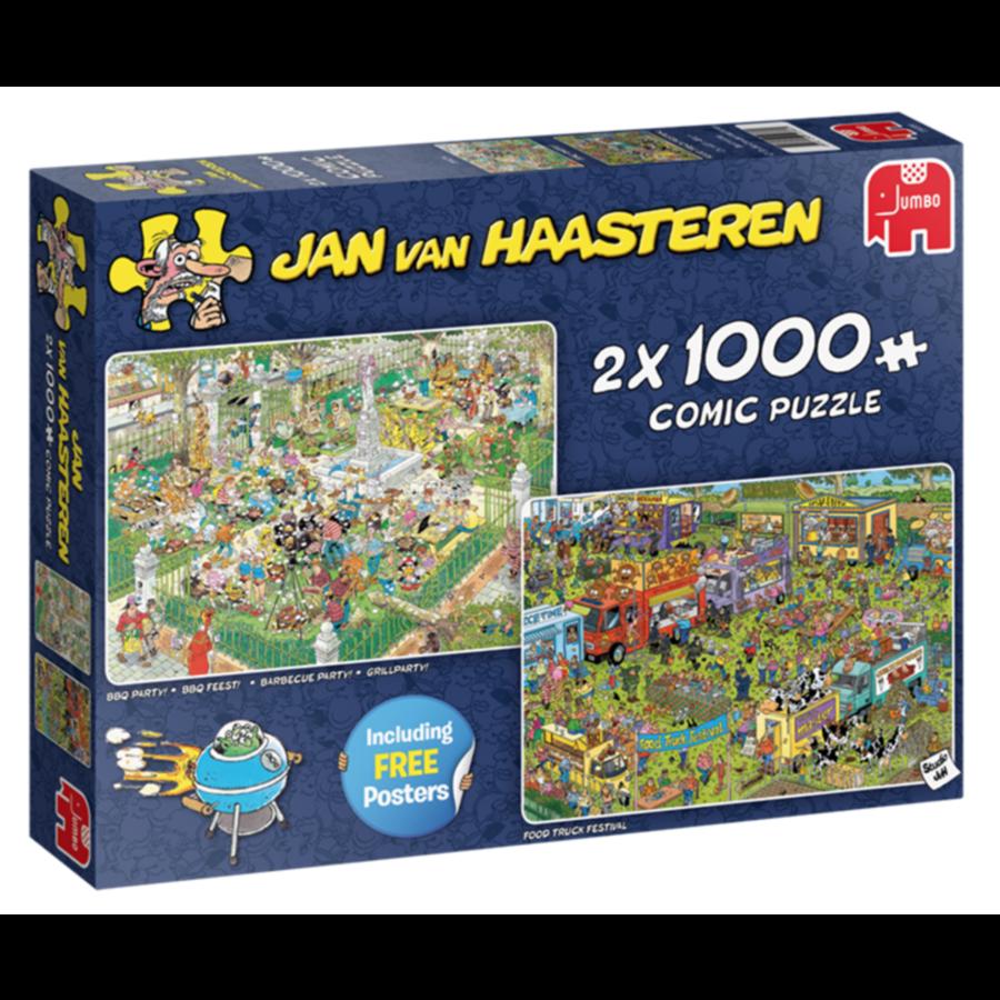 Food Festival - JvH - 2 puzzels van 1000 stukjes-1