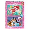 Educa Disney princesses - Ariel and Jasmine - 2 x 48 pieces