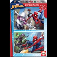 Spiderman - 2 x 48 stukjes