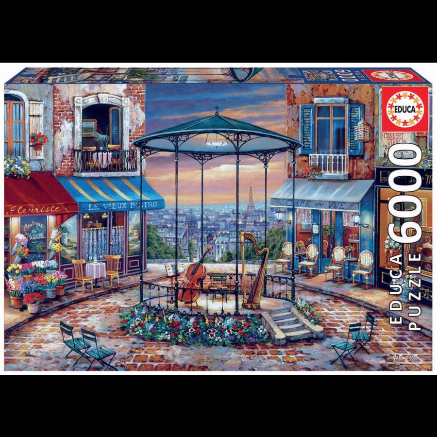 Avond prelude - puzzel van 6000 stukjes-1