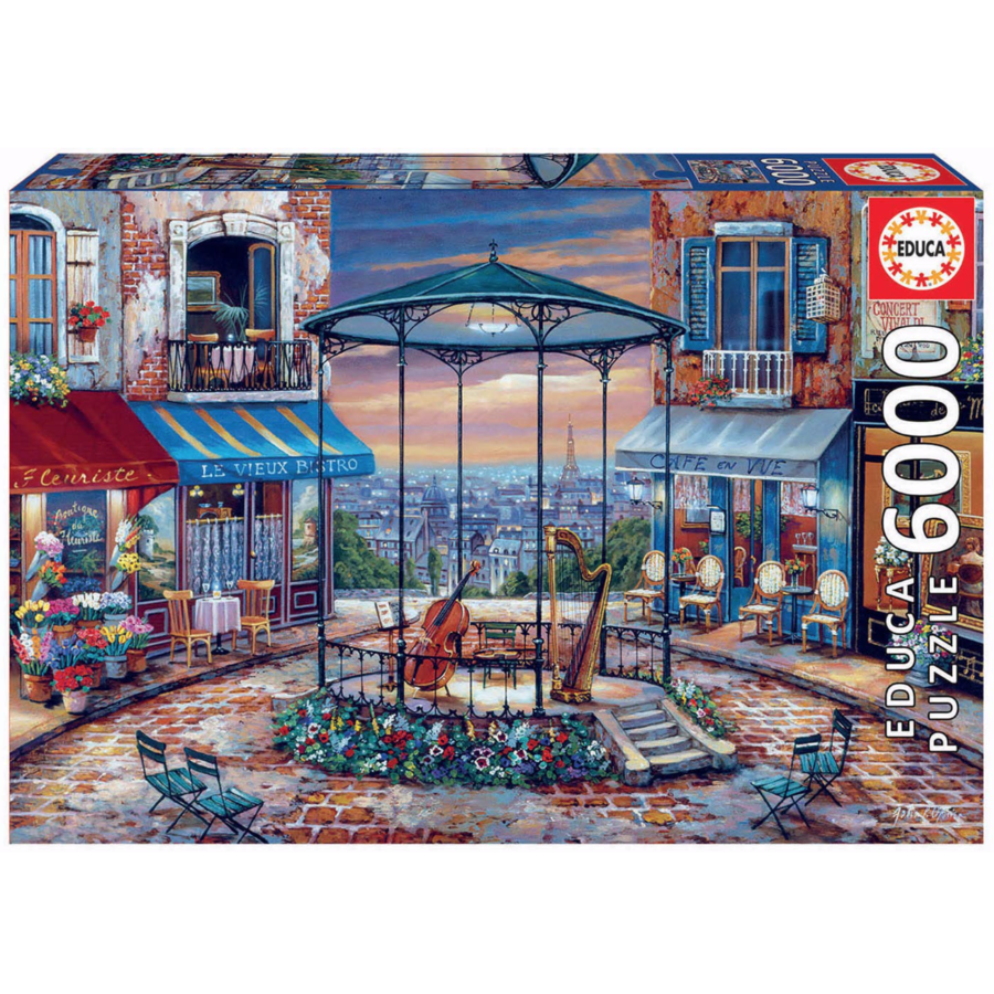Evening Prelude - jigsaw puzzle of 6000 pieces-1