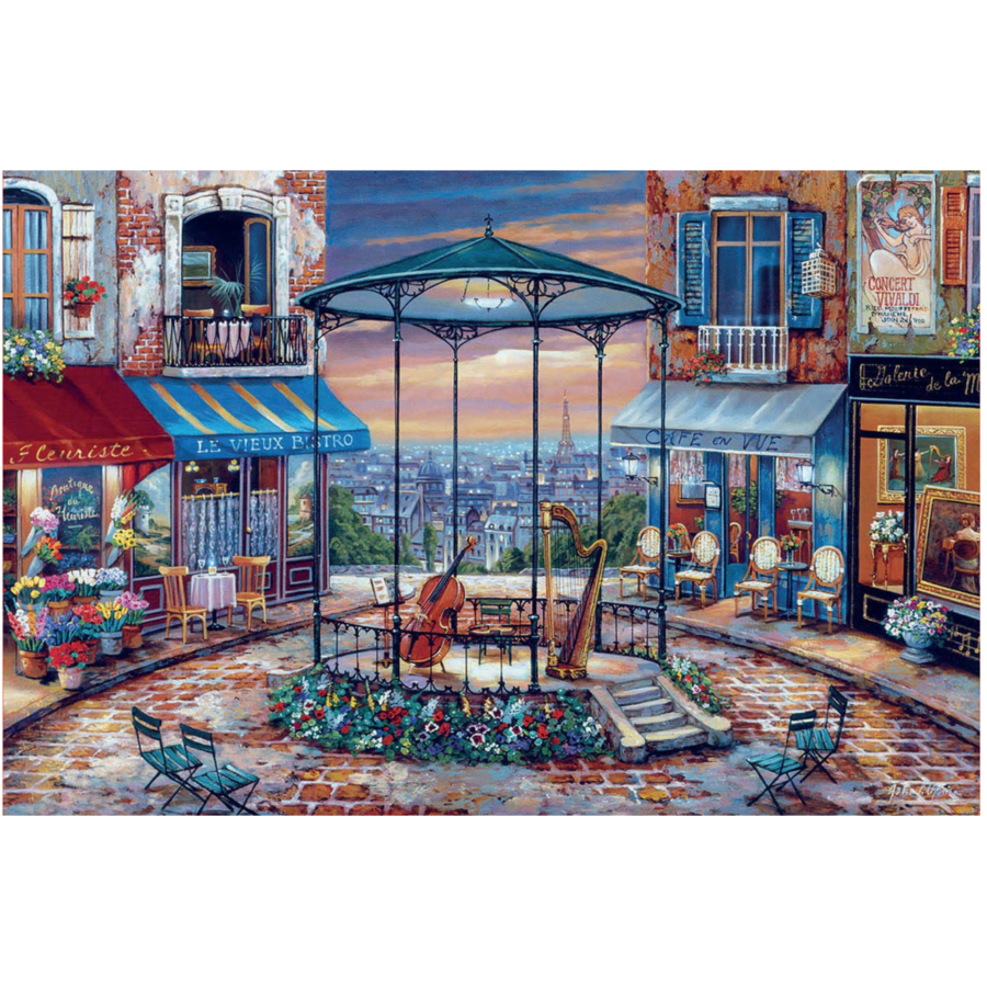 Evening Prelude - jigsaw puzzle of 6000 pieces-2