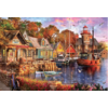 Educa The harbour evening  - jigsaw puzzle of 5000 pieces