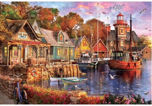 Educa The harbour evening - 5000 pieces