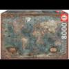 Educa Historische wereldkaart - puzzel van 8000 stukjes