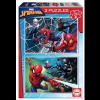 thumb-Spiderman  - 2 puzzels van 100 stukjes-1