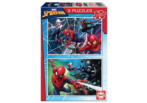 Spiderman - 2 x 100 pieces