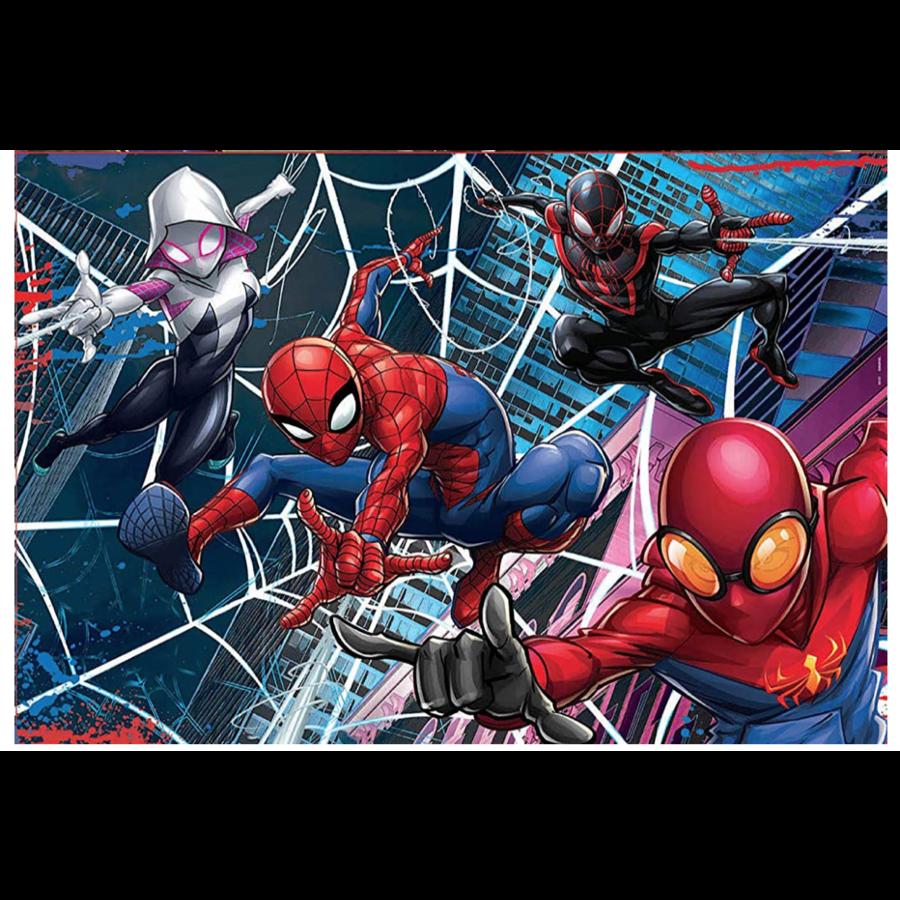Spiderman  - 2 puzzels van 100 stukjes-2