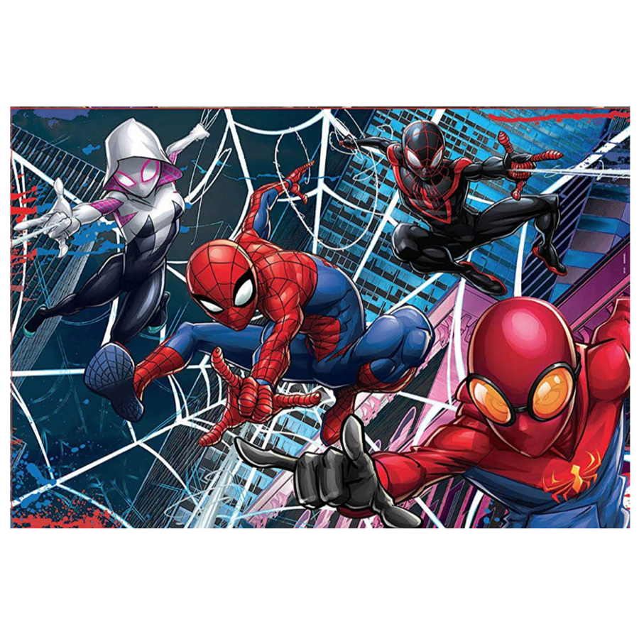 Spiderman  - 2 puzzles of 100 pieces-2