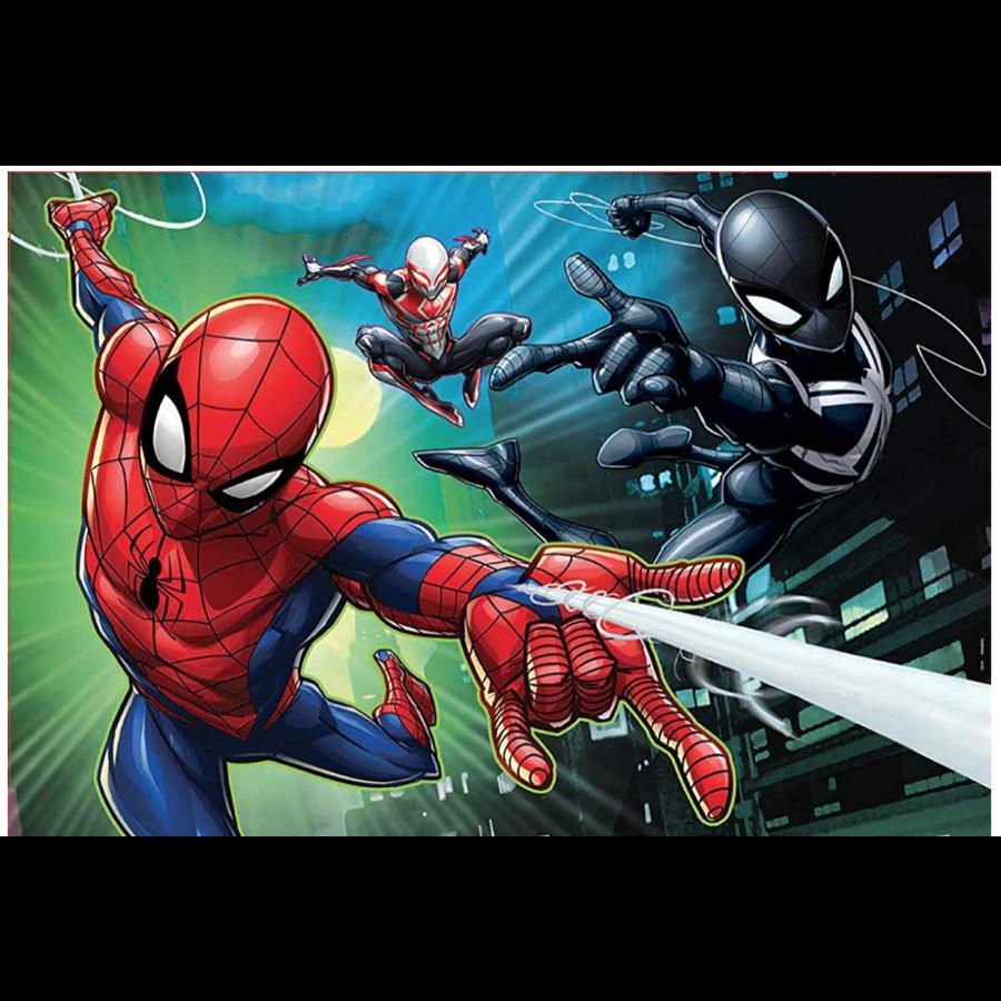 Spiderman  - 2 puzzels van 100 stukjes-3