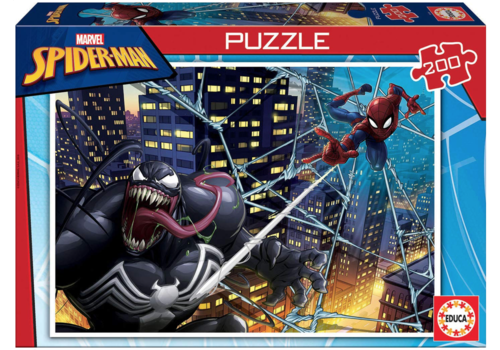 Spiderman - puzzle of 200 pieces