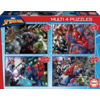 Educa Spiderman - 4 puzzels van 50 / 80 / 100 / 150 stukjes