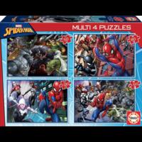 thumb-Spiderman - 4 puzzels van 50 / 80 / 100 / 150 stukjes-1