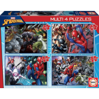 thumb-Spiderman - 4 puzzles of 50 / 80 / 100 / 150 pieces-1
