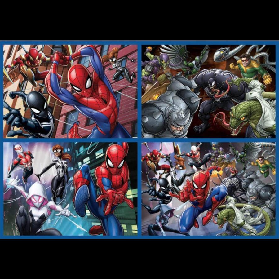 Spiderman - 4 puzzels van 50 / 80 / 100 / 150 stukjes-2