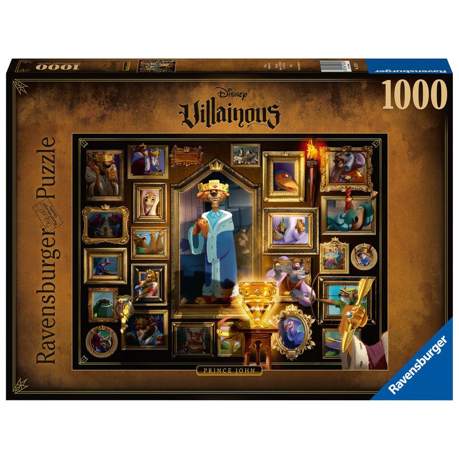 Villainous  King John - puzzle of 1000 pieces-1
