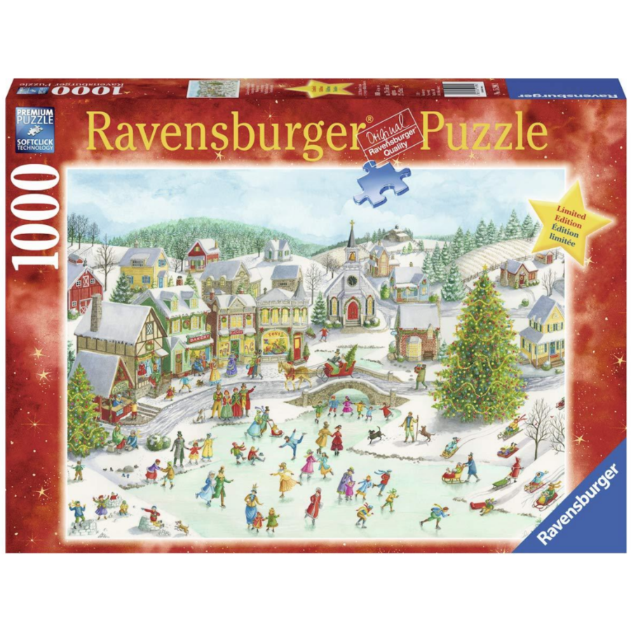 Playful Christmas Day  - 1000 pieces-1