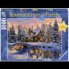 Ravensburger Witte Kerst - 1000 stukjes