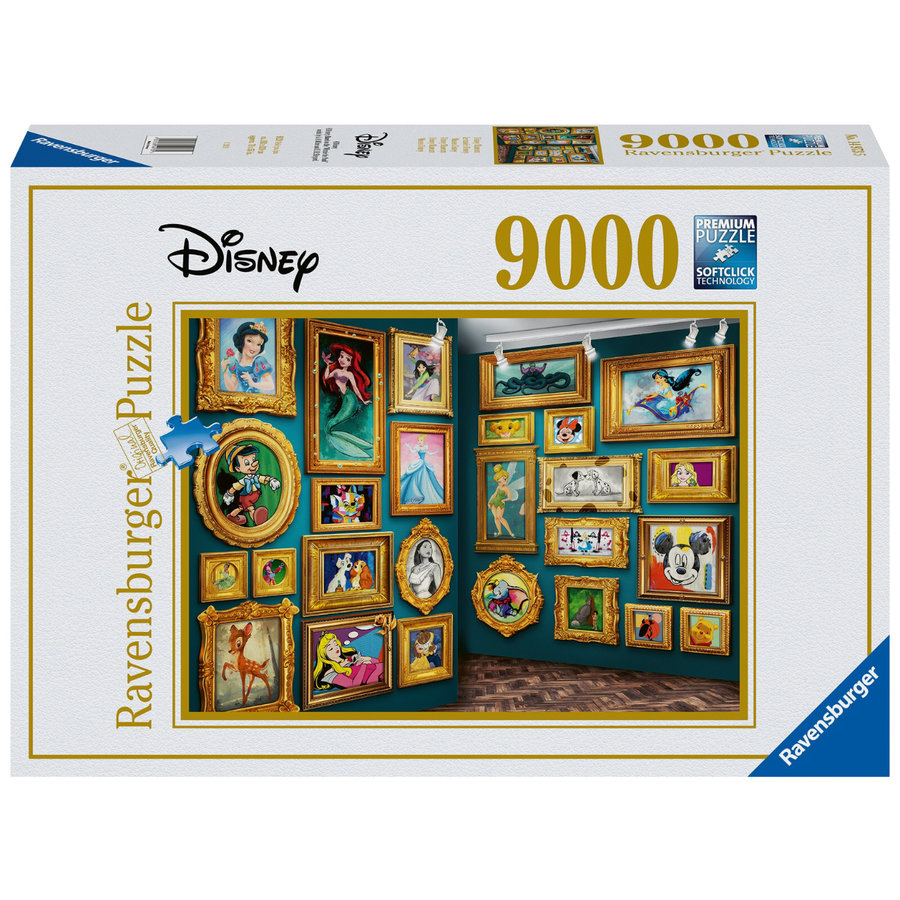 Disney Museum - jigsaw puzzle of 9000 pieces-1