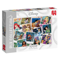 thumb-Disney collage princesses - jigsaw puzzle of 1000 pieces-1