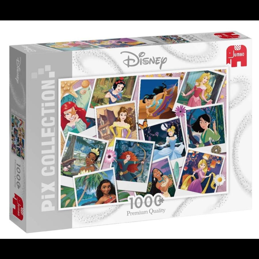 Disney collage de princesses - puzzle de 1000 pièces-1