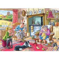 thumb-Wasgij Mystery 17 - Catching a Break! - 1000 pieces-3