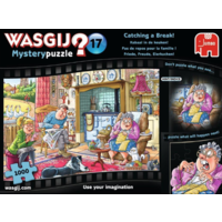 thumb-Wasgij Mystery 17 - Catching a Break! - 1000 pieces-1