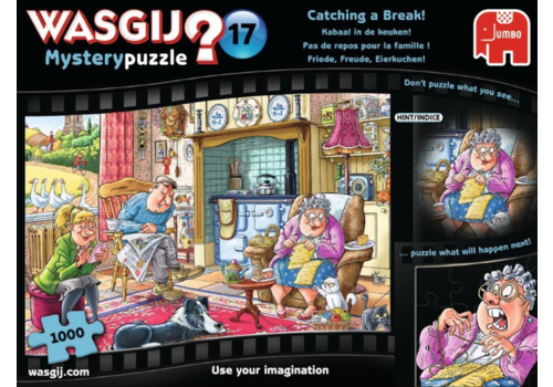 Wasgij Mystery 17 - Catching a Break! - 1000 pieces