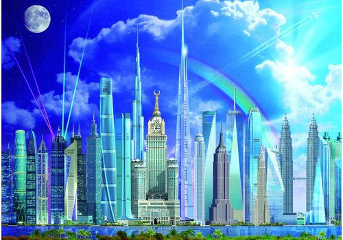 Wolkenkrabbers - 1000 stukjes